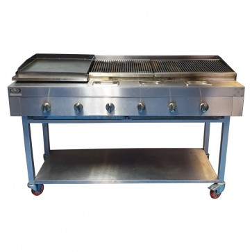 Used Chargrill and Griddle