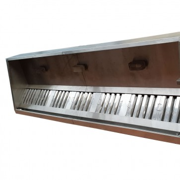 Used Commercial Kitchen Canopy