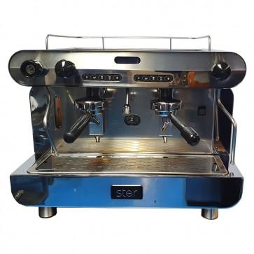 Star 2 Group Espresso Machine and Mazzer Coffee Grinder