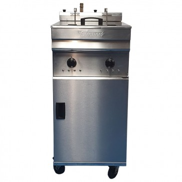 Used Valentine Evo 2200 Twin Tank Electric Fryer