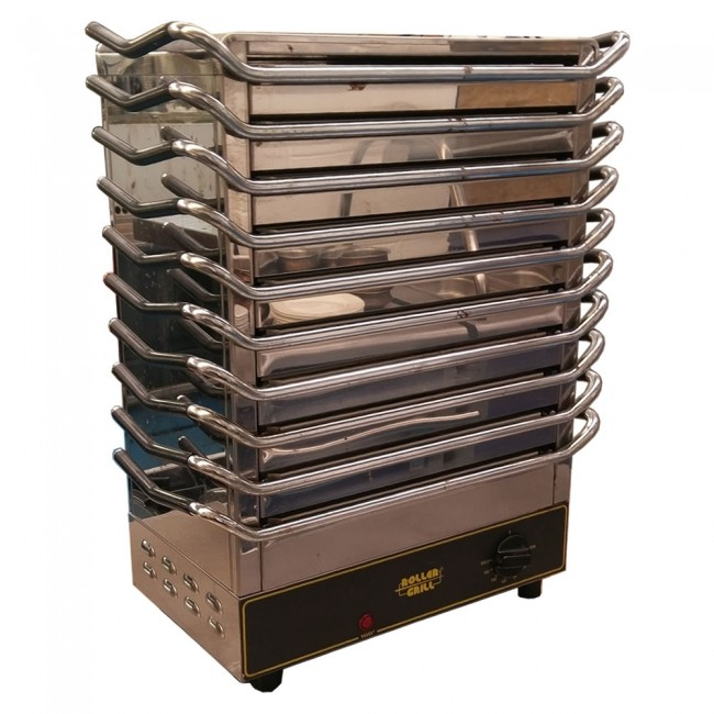 Used Roller Grill 10 Plate Hot Plate Unit