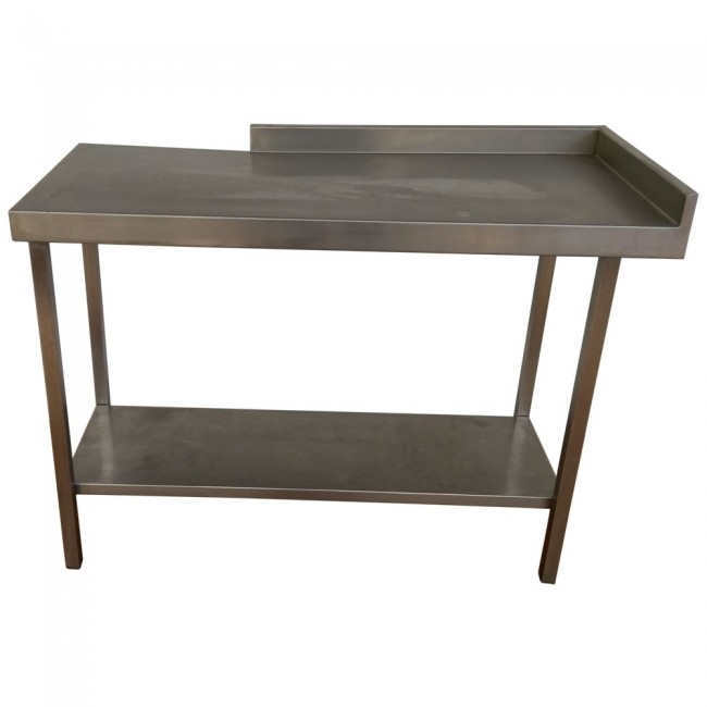 used stainless steel table. Black Bedroom Furniture Sets. Home Design Ideas