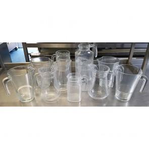 11 Assorted Water Jugs