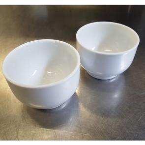 Set of 2 Small Ceramic Sauce Serving Bowls