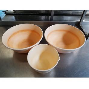 Set of 3 Plastic Mixing Bowls