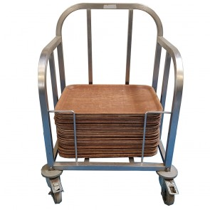 Tray Trolley With Trays
