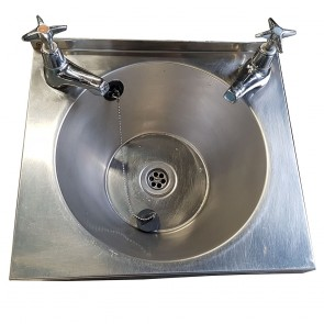 Small Stainless Steel Wall Mounted Hand Basin