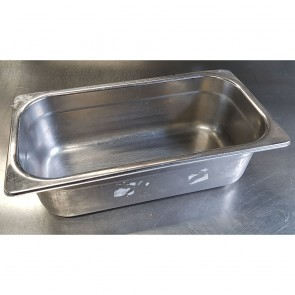 1/3 Stainless Steel Gastronorms