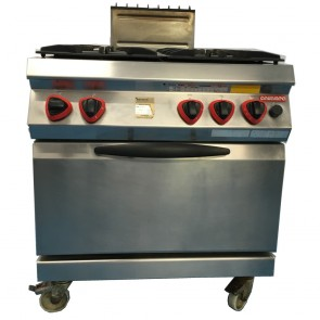 Used Angelo-po oven 4 burner