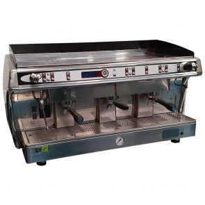 Used Astoria Gloria Automatic 3 Group Espresso Machine Chrome SAE