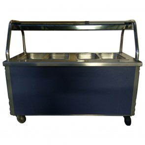 Used Bain Marie, Hot Cupboard and Overhead Gantry