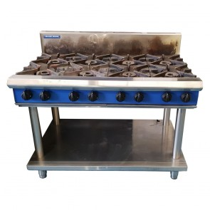 Used Blue Seal 8 Burner Oven