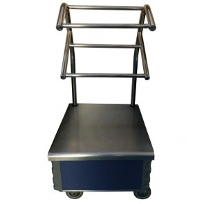 Used cutlery stand on wheels