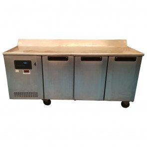 Used Foster 3 door counter fridge