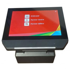 Used HT10-2 Andoid POS System with Built in Printer
