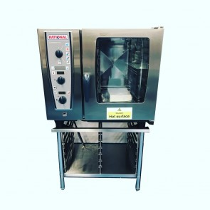 Used rational 6 grid combi oven