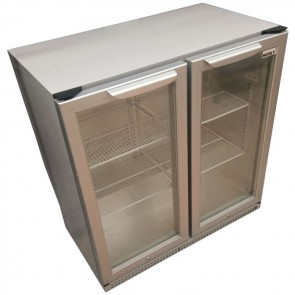 Husky Double Hinged Door Back Bar Cooler HUS-C2-LED