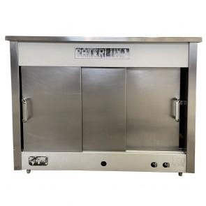 CaterLux hot cupboard & bain marie Natural Gas