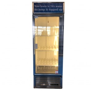 True Glass Door 539L Upright Display Fridge GDM-19T Single Phase