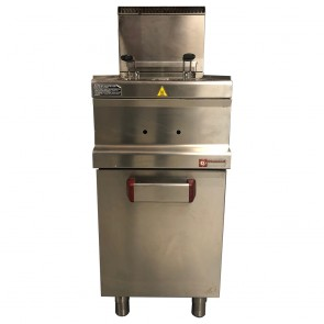 Diamond Stainless Steel Fryer Twin tanks Natural Gas