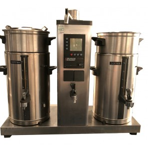 BRAVILOR BONAMAT B10 HW 2 X 10L BULK BREW COFFEE FILTER AND HOT WATER MACHINE
