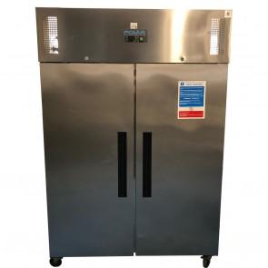 Polar G-Series Upright Double Door Freezer 1200Ltr G595 Single Phase