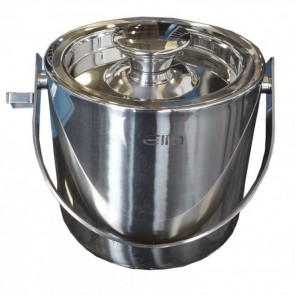 Used Stainless steel Ice Bucket with Lid