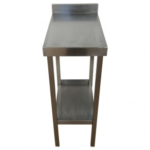 Narrow Stainless Steel Commercial Table