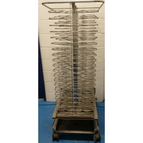 Used Rational Mobile Plate Rack 120 Plate