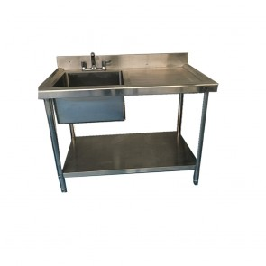 Used Single basin sink