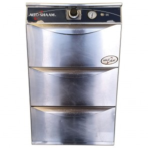 Alto Shaam 500-3DN Triple Stacked Halo Narrow Warming Drawers
