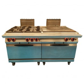 Angelo Po 4 Burner, Boiling Plate and Ovens