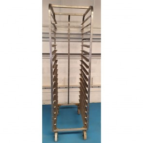 Used Baking Tray Trolley
