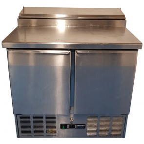 Blizzard BCC2EN-ECO Two Door Refrigerated Prep Counter