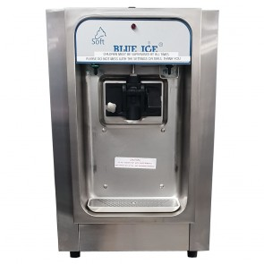 Used Blue Ice Table Top Ice Cream Machine T15