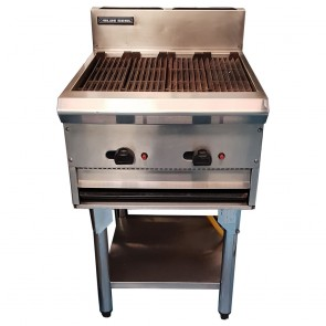 Used Blue Seal gas chargrill with stand