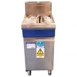 Used Blue Seal Twin Fryer