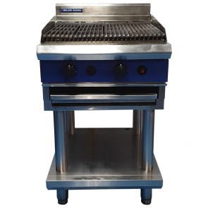 Used Blue Seal Heavy Duty Gas Chargrill with Stand