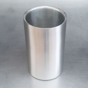 Used Brushed Stainless Steel Wine and Champagne Cooler