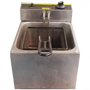 Used Buffalo L484 5 litre single tank fryer