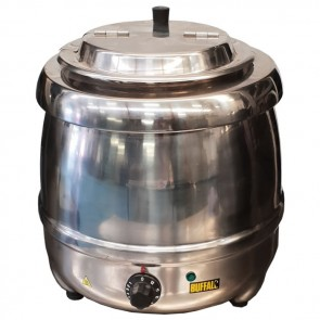 Used Buffalo L714 Stainless Steel Soup Kettle