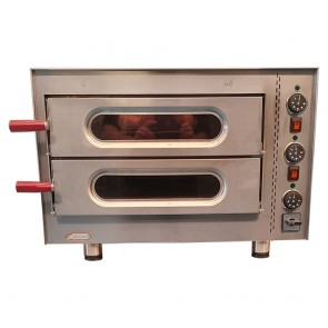 Used Cater Bake Little Italy Twin Deck Electric Pizza Oven