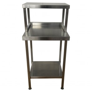 Used Stainless steel table and shelf unit