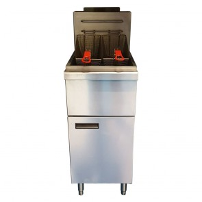 Twin Basket Single Tank Gas Fryer