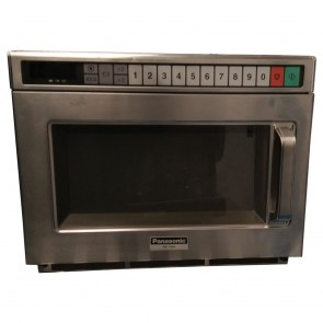 Used commercial microwave, Panasonic NE-1856, 1800 Watt