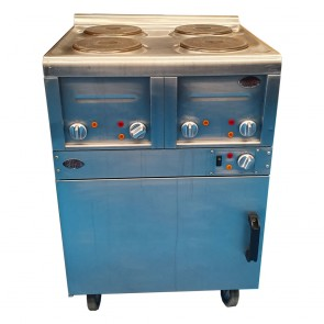 Electric 4 Hob Oven