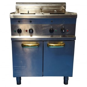 Hobart Twin Tank Electric Fryer