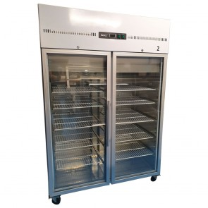Lec Double Door Display Display Fridge
