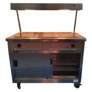 Lincat Hot Cupboard and Overhead Gantry