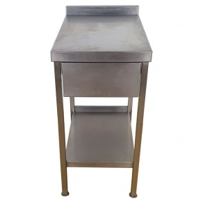 Used Stainless Steel Table 47cm Wide